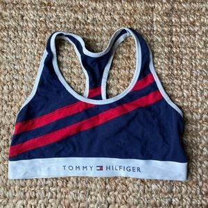 Tommy Hilfiger Cotton Scoop Neck Bra